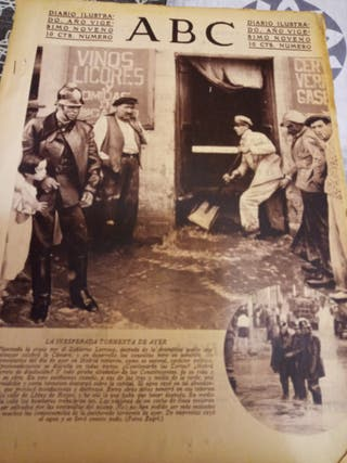antiguo periodico 1933