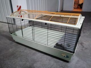 Jaula grande para roedores: conejos, cobayas, etc.