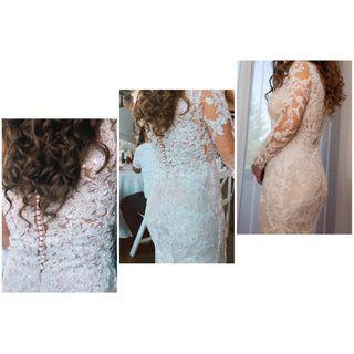 Vestido de Novia de corte Sirena