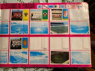 Álbum de cromos de la Liga de fútbol 1973-74