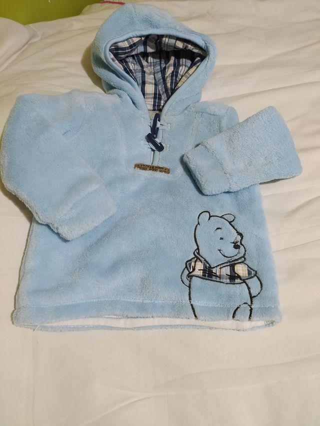 forro polar Winnie the pooh bebé talla 80