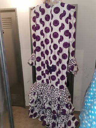 vestido-traje sevillanas talla 40