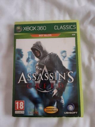 """""""ASSASSINS CREED"""" PARA XBOX 360"""