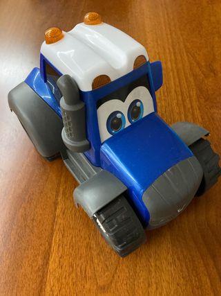 Tractor juguete bebés