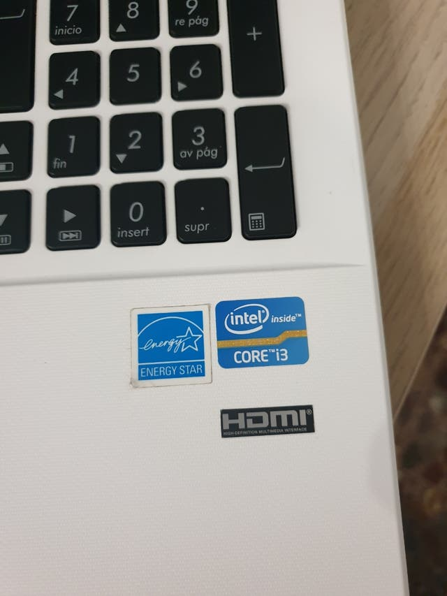 """Asus F551C notebook 15"""" Core i3"""