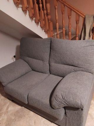 sofá de sos plazas o cambio por sillón relax