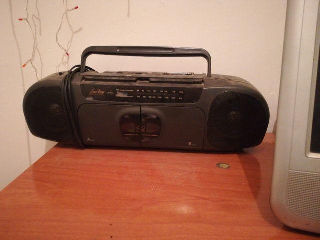 radio cassette doble grabador de cintas