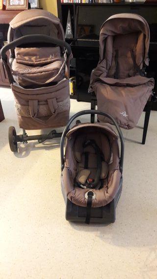 Carrito Conjunto bebé Neonato completo