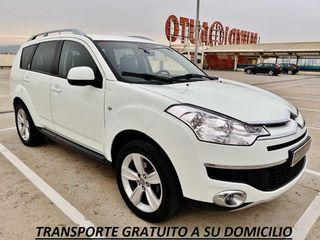 """Citroën C Crosser 2.2 HDi 156cv """"EXCLUSIVE"""" con 7 PLAZAS, NAVEGADOR, CÁMARA, CUERO..."""