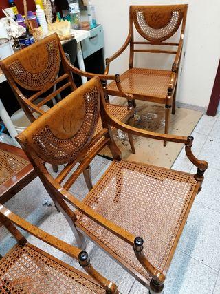 Reparación de sillas de Rejilla
