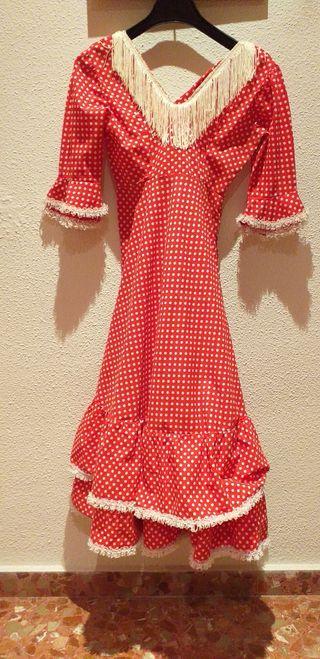 Vestido niña sevillana, gitana, andaluza