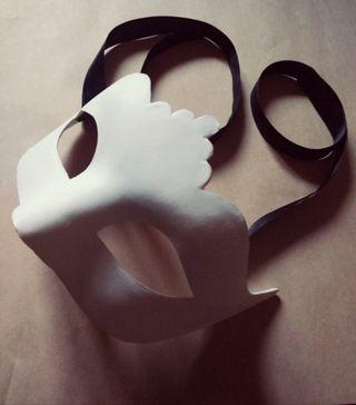 Antifaz personalizable de Arlequí Máscaras