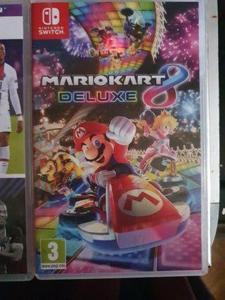 mario cart delux 8 / fifa 21 legacey edition