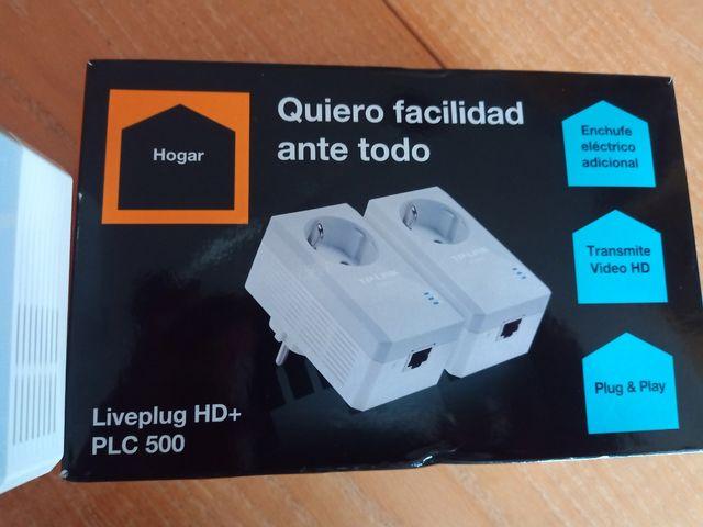 KIT 2 PLC TPLINK LIVEPLUG HD+ PLC 500 6240296