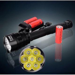 Linterna LED Trustfire 8500 Lumenes