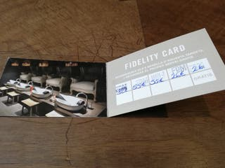regalo Fidelity Card salón Flor de Manila