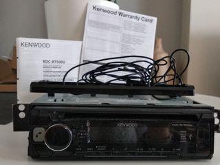 Radio coche kenwood kdc bt500u