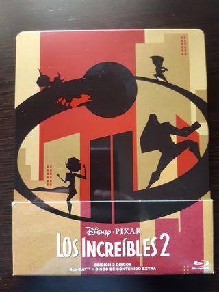 Los Increibles 2 Bluray Steelbook