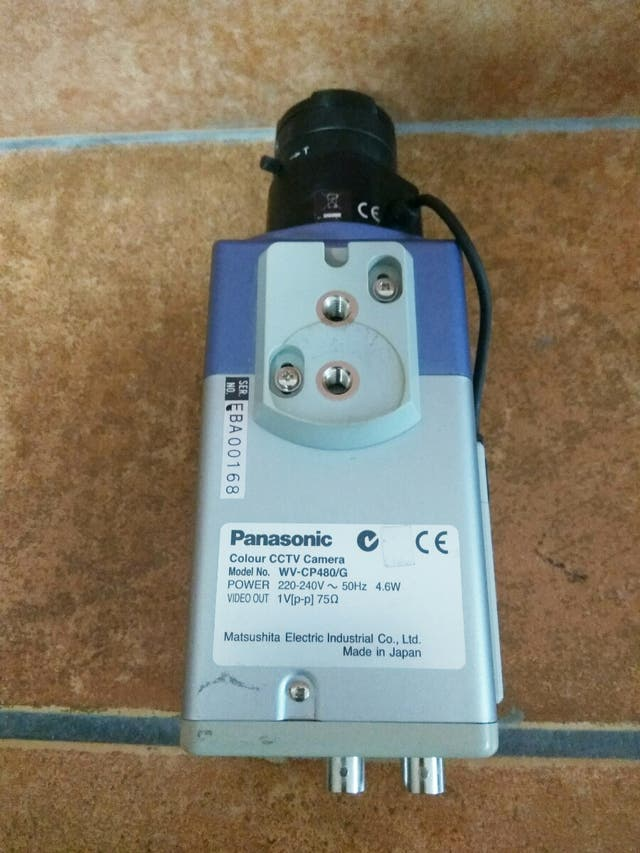 CÁMARA PANASONIC WV-CP480/G