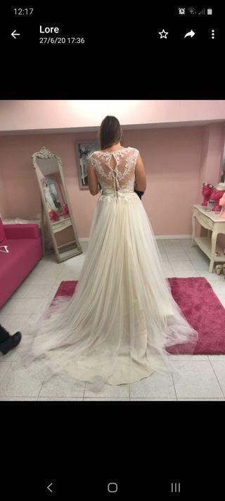vestido de novia pronovias talla 42