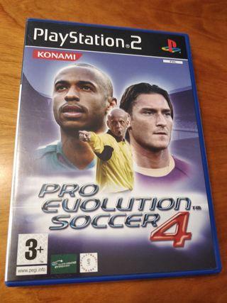 pro Evolution soccer 4 para Ps2