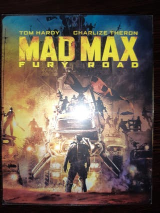 Mad Max Fury Road Bluray Steelbook