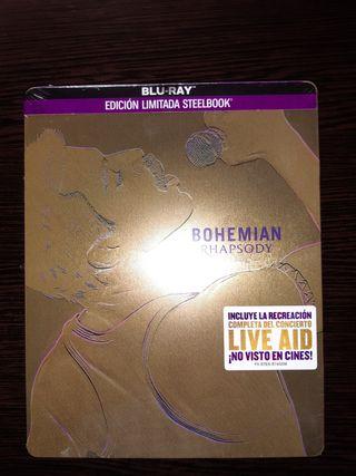 Bohemian Rhapsody Bluray Steelbook
