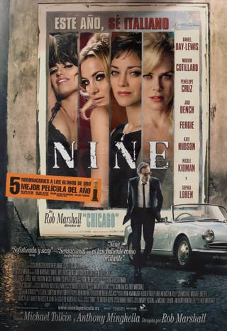 Póster película Nine
