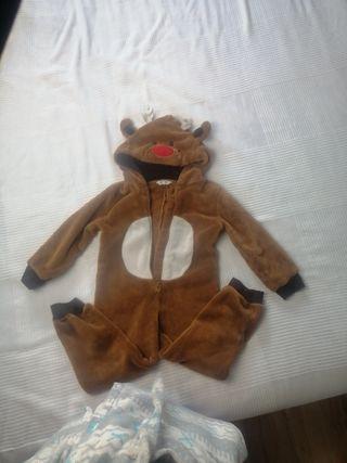pijama o disfraz de reno