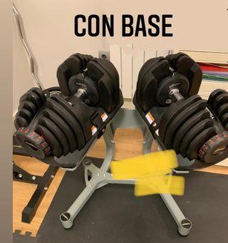 Mancuernas pesas ajustables