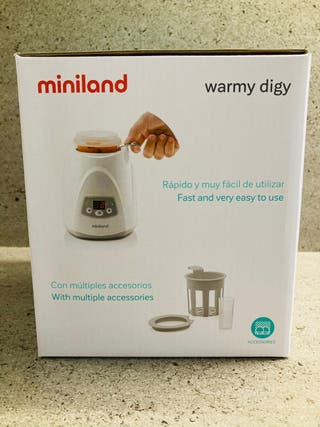 Calienta biberones y potitos Miniland Warmy Digy