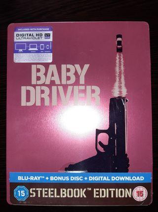 Baby Driver Bluray Steelbook