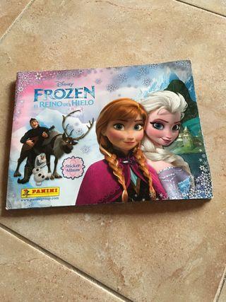 Libro de Frozen 1 con todos los cromos