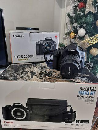 Cámara réflex - Canon EOS 2000D