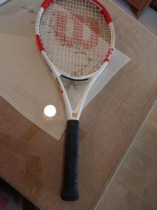 Raqueta Wilson modelo Federer