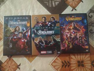 Películas Los Vengadores (Marvel)