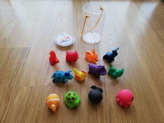 juguetes animales baño