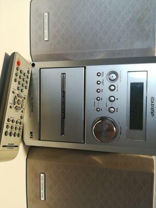 MINI CADENA SHARP XL MP35