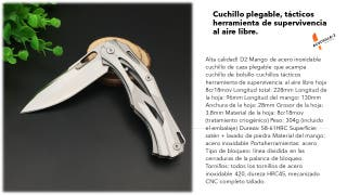 Cuchillos Plegables de Pesca/Caza y Senderismo