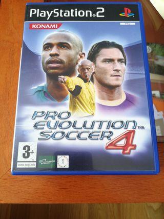 Pro evolution soccer 4, para ps2