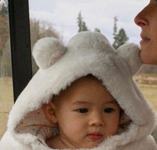 Buzo pelo bebé