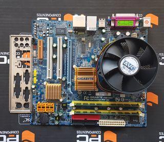 Placa Base GIGABYTE GA-945GCMX-S2, CPU y RAM