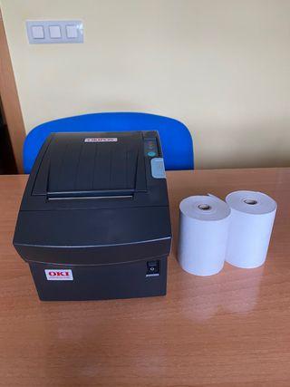 Impresora tickets tpv OKI Okipost 410G -térmica