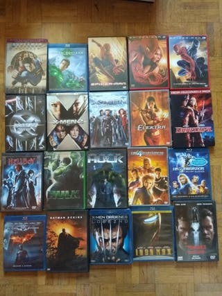 Películas DVD y Blu ray