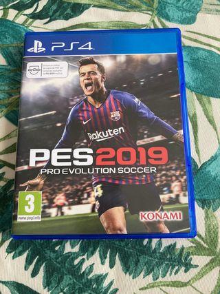 PES2019 pro evolution soccer ps4