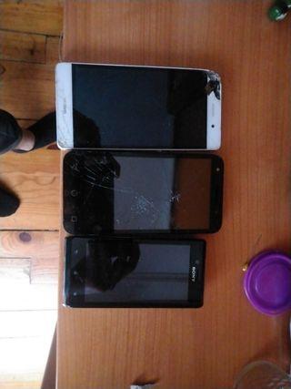 móviles a piezas