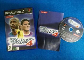 Ps2 - Pro Evolution Soccer 4