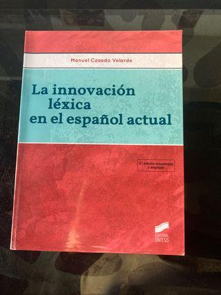La innovación léxica en el español actual