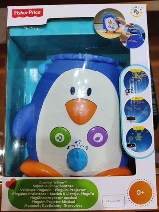 Pingüino proyector.