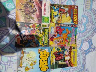 lote de cómics antiguos